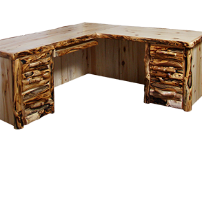 office furniture rustic log